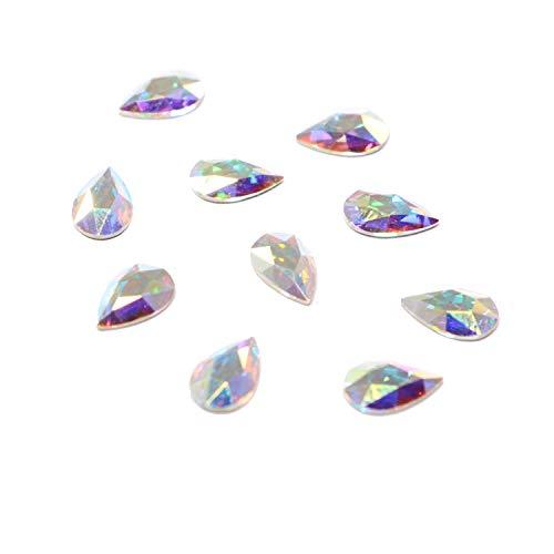 Amazon.com  Swarovski 2303 Pear Flatbacks No-Hotfix Crystals Rhinestones 663084d9465e