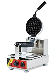 Rotary Head Electric Cake Oven Grid Puff Bread Maker Stainless Steel Waffle Machine With Timer 220V AU EU Plug