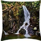 Rose River Falls - Throw Pillow Cover Case (18
