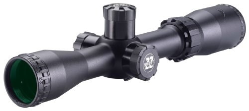 BSA 2-7X32 Sweet 22 Rifle Scope with Side Parallax Adjustment and Multi-Grain Turret ()