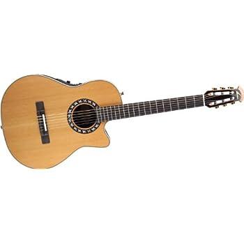 Amazon.com: Ovation AX Series 1773AX-4 Classical Guitar, Natural ...