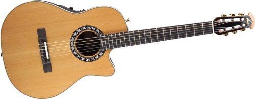 Ovation AX Series 1773AX-4 Classical Guitar, Natural - Guitar Ovation String Nylon