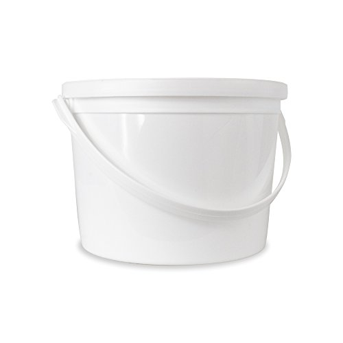 Food Grade 1/2 (0.5) Gallon Bucket - 20 Pack With Lids