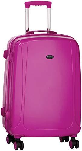 Giordano Burgundy Luggage Cart  GTTFP003BRD28