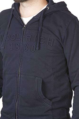 alpine Navy 3107a Woolrich Felpa A Blu Uomo qwx4tWBFZf