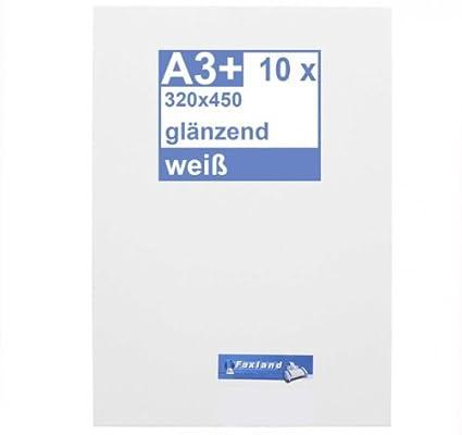 Your Design 40 x DIN A3 Blanco Brillante - Impresora pantalla ...