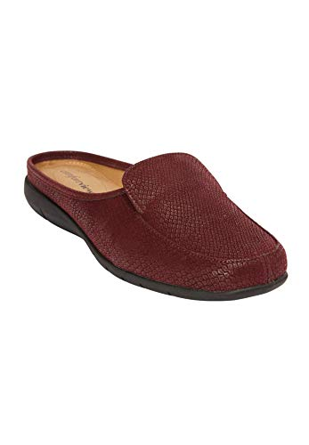 The Burgundy Comfortview Comfortview Mule Estelle Estelle Comfortview Mule Burgundy The Estelle The trrwqT1