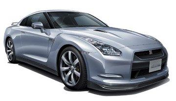 - Aoshima 1/24 Nissan R35 GT-R With Engine Left Hand Drive