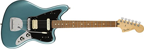 - Fender Player Jaguar Electric Guitar - Pau Ferro Fingerboard - Tidepool