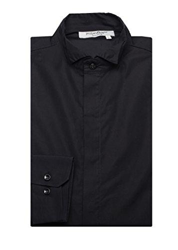 Yves Saint Laurent Men's Cotton Wing Collar Dress Shirt - Saint Laurent Clothes Yves