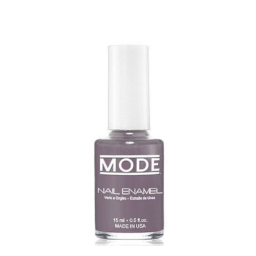 MODE, Nail Enamel (Smoldering Slate Gray with Lavender Undertone in a Cream Finish - Shade #140) .50 fl oz, Long Wear, High Gloss, Chip Resistant, Cruelty-Free/Vegan Nail Polish, Made in beautiful USA