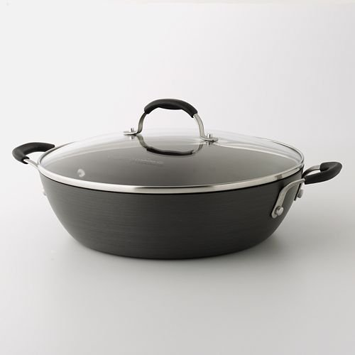 Cooking With Calphalon Hard-Anodized Nonstick 12 Inch Everyday Pan by Calphalon