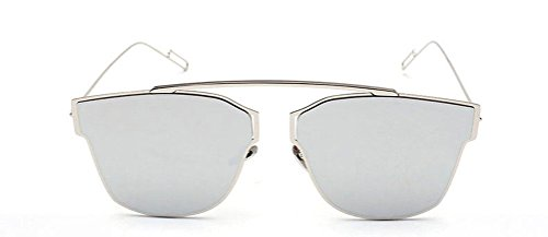 GAMT Fashion Cateye Aviator Sunglasses with Metal Frame for Men and Women - Reading Replica Designer Glasses