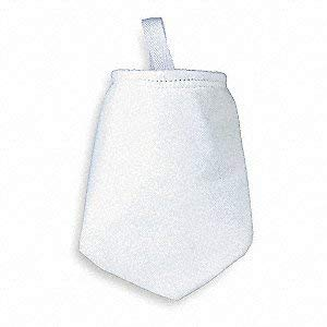 7 x 16, Polyester Felt Filter Bag 3 Ea//Pack Trade Size #1 1 Micron Singed for Strength
