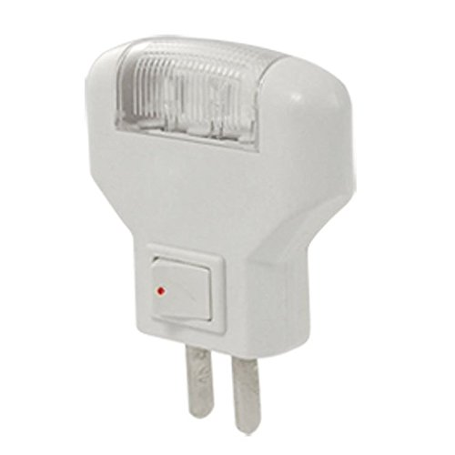 Bulbs US Plug - SODIAL(R) Home 3 LED Bulbs White Night Light Decoration US Plug AC110V - 220V