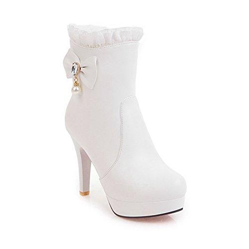 Sxc02683 Plateforme AdeeSu Blanc 5 36 Femme Blanc qP6Z1wdU