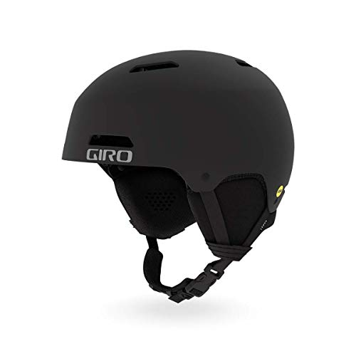Giro Ledge MIPS Snow Helmet Matte Black MD 55.5-59cm