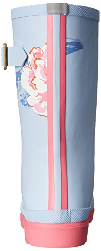Little Joules Rain Girls Boot Sky Welly Kid JNR Kid Toddler Floral Blue Big CqCrwYt