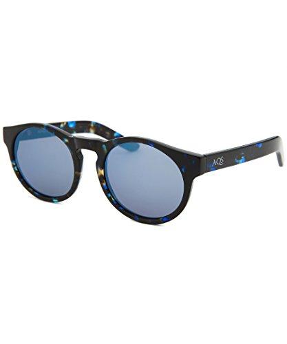 db954f9724bd AQS Unisex Bennie Sunglasses (Black/Blue, Dark Blue): UVC