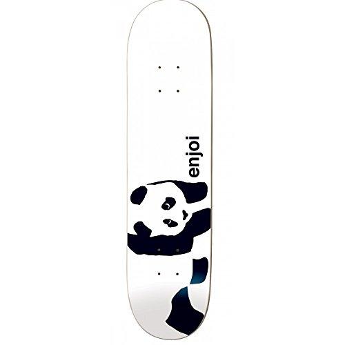 カメシード幹Enjoi Panda Logo Wide Skateboard Deck - 8.0