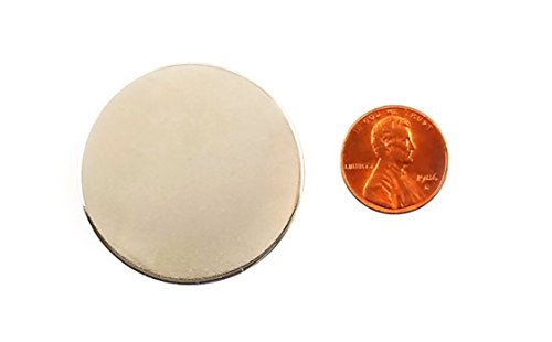 INNOVANT 4 Pack Neodymium Disc Magnets 1 1/2'' d x 1/8'' h N45 Grade Strong Permanent Rare Earth Magnets - Best for DIY Arts & Crafts Projects, School Classroom Science Project & Office or Work Supply by Innovant Supply (Image #7)
