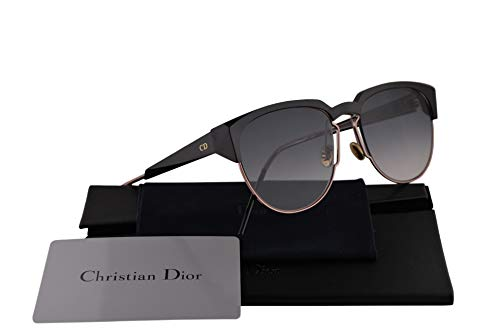 Christian Dior DiorSpectral Sunglasses Black Ivory w/Grey Gradient Lens 53mm 01MR0 DiorSpectrals DiorSpectral/S Dior ()