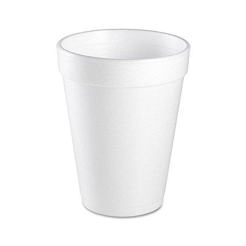 (Wincup C1618 Handi-Kup High Sheen White 16 Oz Foam Cup - 500 /)