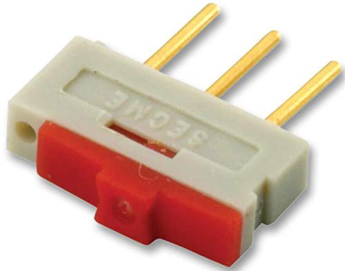 09.03201.02 - Slide Switch, 1K2 Series, SPDT, Vertical, Through Hole, 500 mA RoHS Compliant: Yes (Pack of 20) (09.03201.02) by EOZ