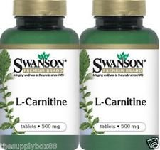 L CARNITINE Tablets Bottles Tabs Swanson