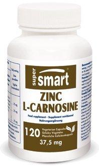Zinc Caps 120 (Supersmart MrSmart - Gastro-Intestinal - Zinc L- Carnosine - Contents: 120 Veg caps.)