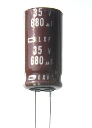 680uF 35V Radial Electrolytic Capacitor 105C