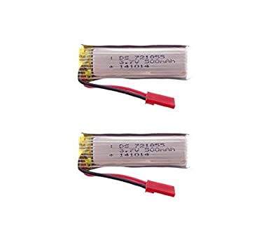2pcs 3.7V 500mAh battery for Udi U818A U818 RC Helicopter spare part