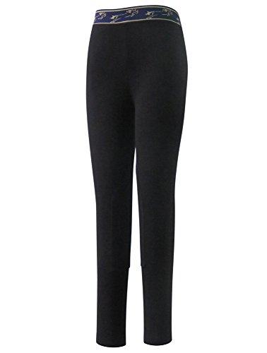 TuffRider Kid's Cotton Schooler Jods, Black, 10 Tuffrider Tights