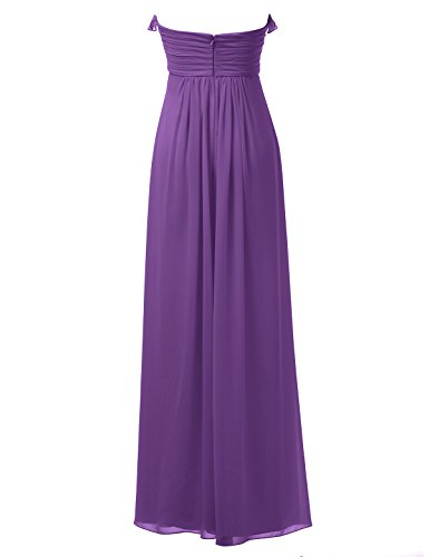 Maxi Alicepub Sweetheart Long Dress Bridesmaid Dress Party Purple Gown Prom Evening Bridal 8x8Ura