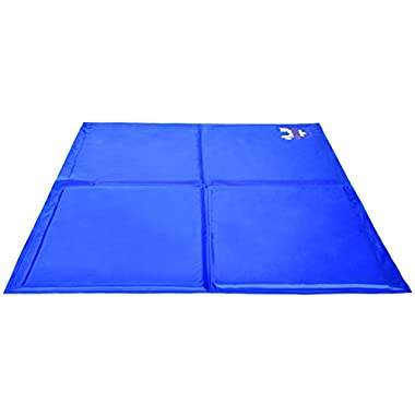 Pet Dog Self Cooling Mat Pad for Kennels, Crates and Beds 31.4 X 37.7 - Arf Pets