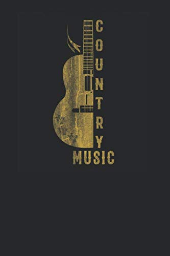 Country Music: Guitars Notebook, Dotted Bullet (6