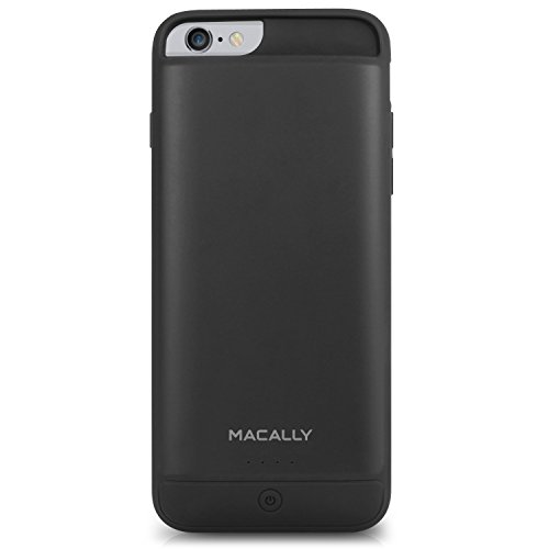 "Macally MPCP6M30 Akkugehäuse 3000 mAh für iPhone 6s und iPhone 6 (4.7"") - Schwarz (Made for iPhone - Apple Mfi certified)"
