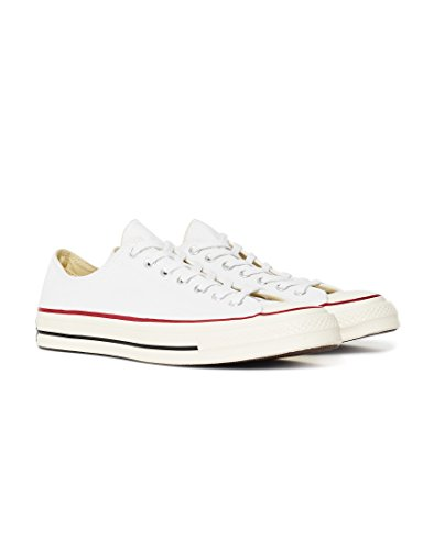 Taylor Chuck Ox 110 Unisex CTAS Blanco 70 Zapatillas Red Adulto Converse Deporte Black de Canvas White x4Hwq54C