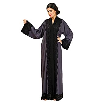 Larimar Multi Color Casual Abaya For Women
