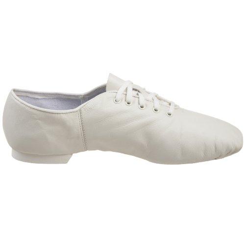 Cg02 Split-sole Jazz Shoe White Van Capezio Dames