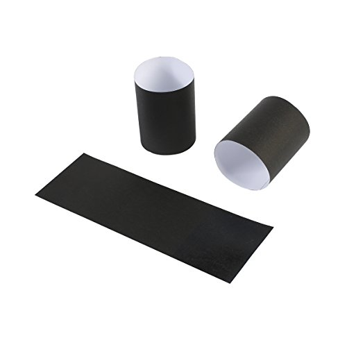 Gmark Paper Napkin Band Box of 500 (Black), Paper Napkin Rings self Adhesive GM1049A