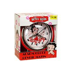 Betty Boop Retro Analog Alarm Clock (Mlb Baseball Alarm Clock)