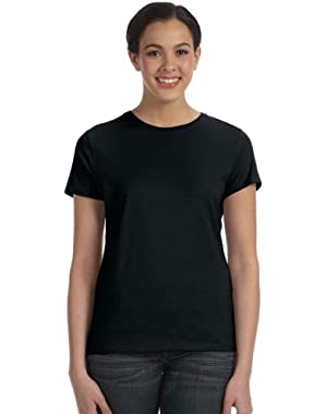 Hanes Ladies' Nano-T T-Shirt (Black)
