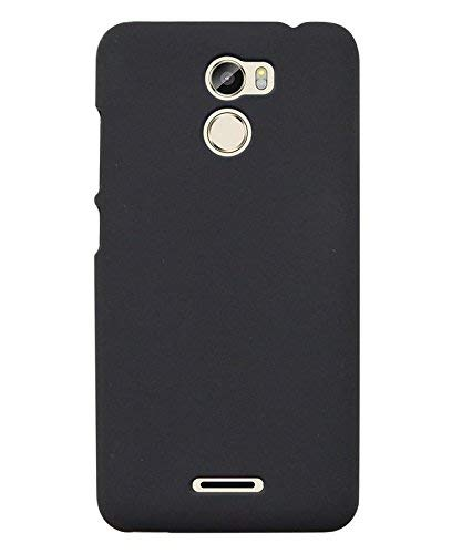 new style 955f0 28b0c COVERNEW Plastic Back Cover for Gionee X1 - Black: Amazon.in ...