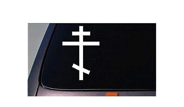 CELYCASY - Pegatina de Cruz ortodoxa, Cruz Rusa, Cruz de ...