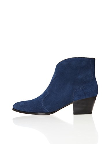 black Stivaletto navy Donna Blu Find pIdqSq