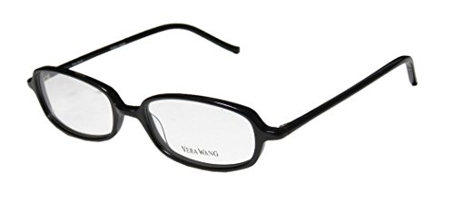 Vera Wang V14 Womens/Ladies Vision Care Prestigious Designer Designer Full-rim Eyeglasses/Eyewear (47-17-133, Black)