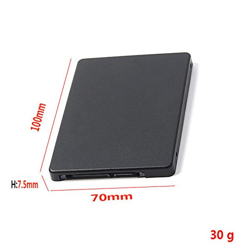 TOOGOO Mini Pcie mSATA S to 2.5 inch SATA3 Adapter Card with Ca 7 mm Thickness Black by TOOGOO (Image #2)
