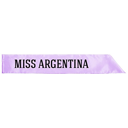 (Miss Argentina Costume: Adult Satin Party)