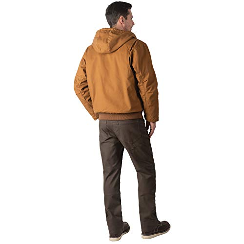 Walls Mens Super Duck Hooded Bomber Jacket